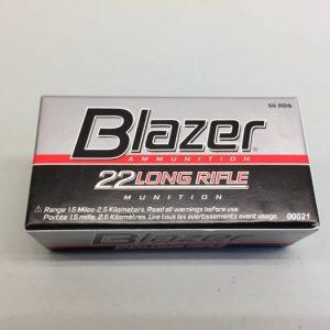 Blazer .22 LongRifle Munitie