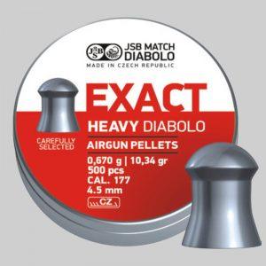 JBS Exact Heavy - 4,52 - 0,670g - x500