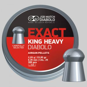 JBS Exact King Heavy - 6,35 - 2,200g - x300